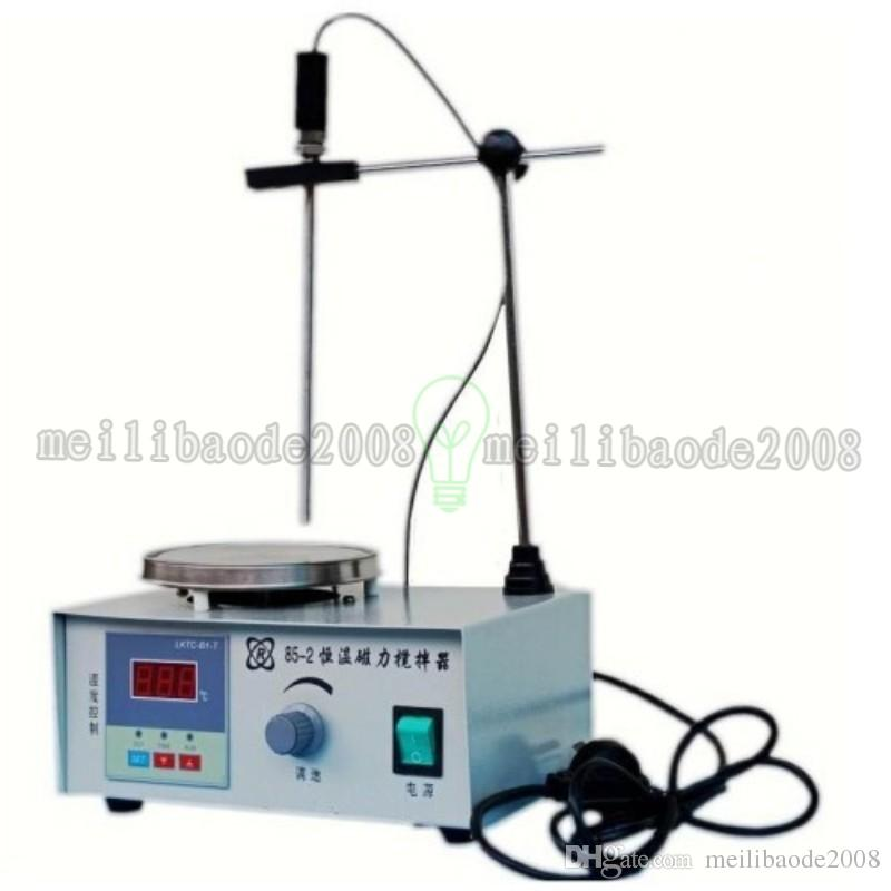 Novo Agitador magnético com placa de aquecimento 85-2 misturador aquecedor 110 V / 220 V frete grátis MYY