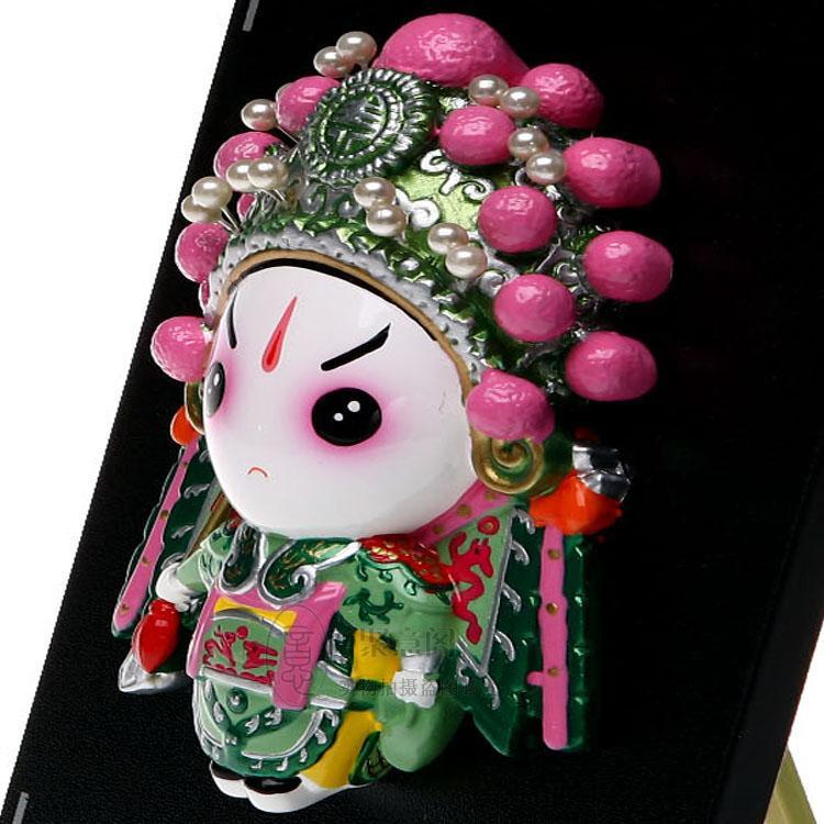 Piatto - Yang Zongbao opera Figura Ciondolo cartone animato Figurine Arredamento la casa ornamenti affari all'estero inviare regali agli stranieri