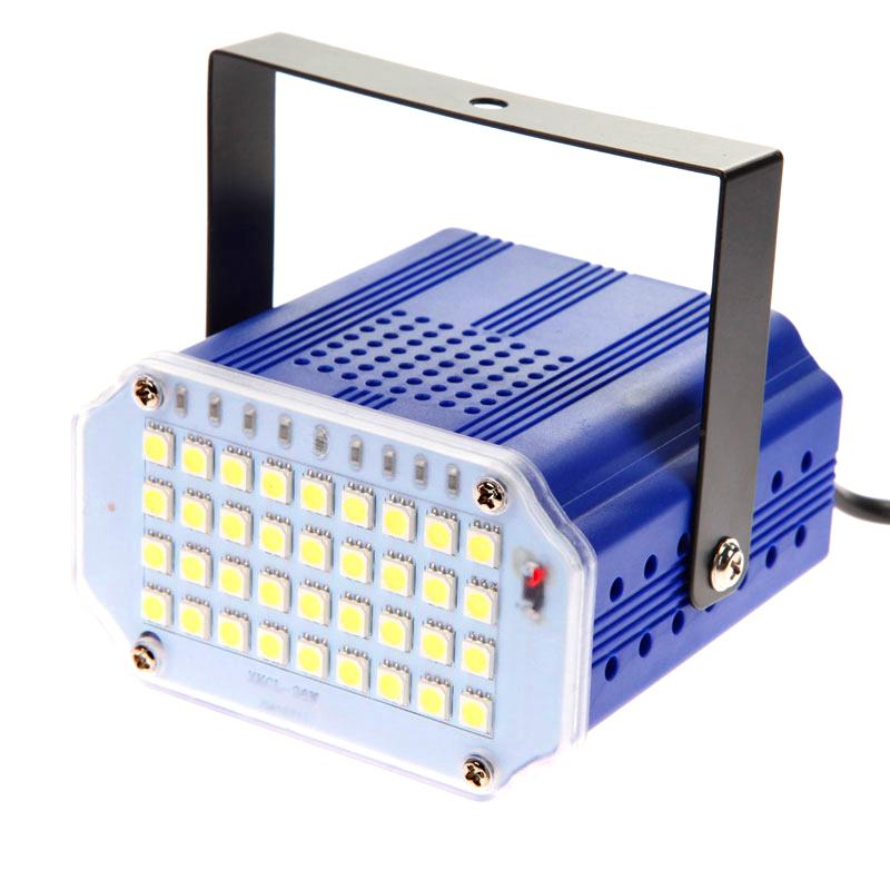 Wholesale Flash 36 Led DJ Disco Strobe Light Sound Voice Music Control  Stroboscope Led Stage Lighting Effect Party Show Bar Projector Light  Turbine Light ...