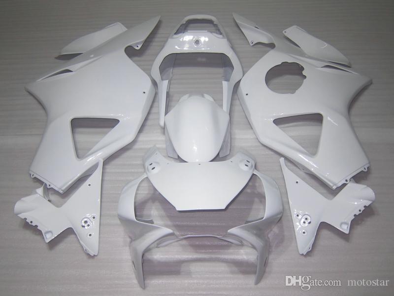 Bodywork plastic fairing kit for Honda CBR900RR 2002 2003 white fairings set CBR 954RR 02 23 OT42