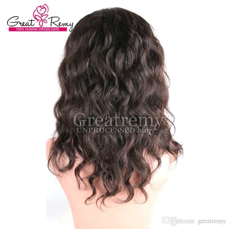 Greteremy® غير المجهزة البرازيلي الشعر الكامل الرباط شعر مستعار المياه الطبيعية موجة المياه 130٪ إلى 150٪ أعلى جودة الرباط الجبهة شعر مستعار الإنسان شعر مستعار