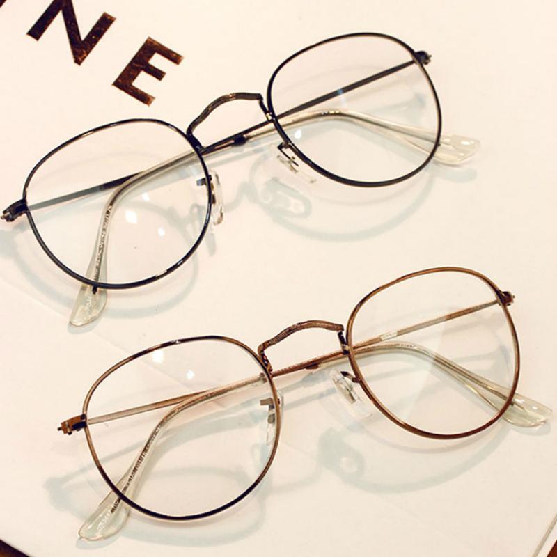 c260dccf112 Wholesale- ANEWISH Fashion Newest Round Eyeglasses Frame Vintage Glasses  Women Men Glasses Frame Optical Frame Glasses Oculos Femininos  2 Glasses  Glasses ...