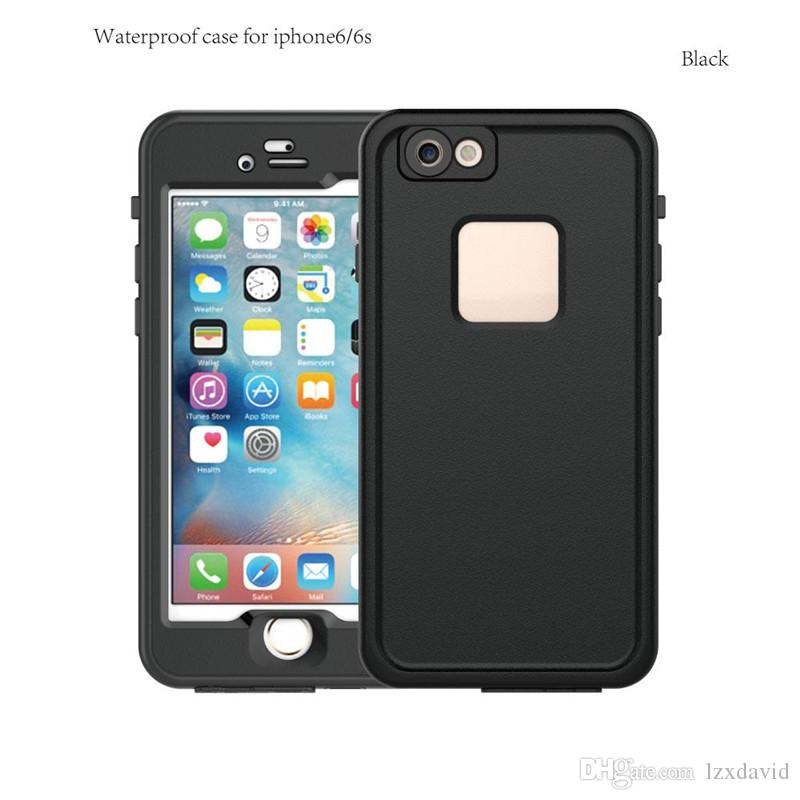 New Fashion Ultra Thin Hard Cases For iPhone7/7 Plus Waterproof Case Life Durable Shockproof For iPhone 5S 6S