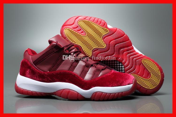 26309c81ef7 2019 Cheap New Arrival Men Basketball Shoes Low 11 GS Velvet Heiress Night Vintage  852625 650 Mens Sport Shoe Men'S Sneaker With Box From Findjordan, ...