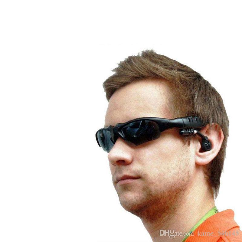 Intelligente drahtlose Bluetooth-Sonnenbrille Google Glass Headset-Kopfhörer Handfree Sunglass Stereo-Sport-Musik-Player, das einfache Sonnenbrillen fährt