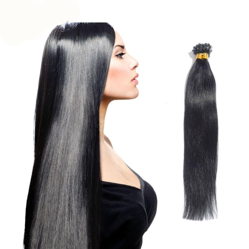 Vogue Hair U Tip Hair Extensions Human 50g U Tip Extensions 100