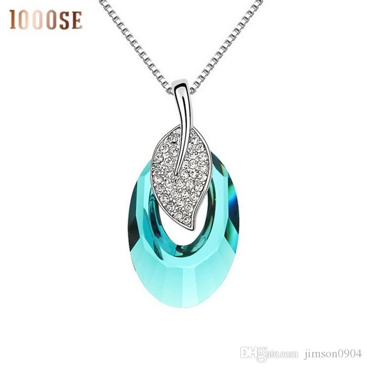 2017 new A genuine SWAROVSKI Elements Crystal Necklace with a high-end jewelry wholesale sale