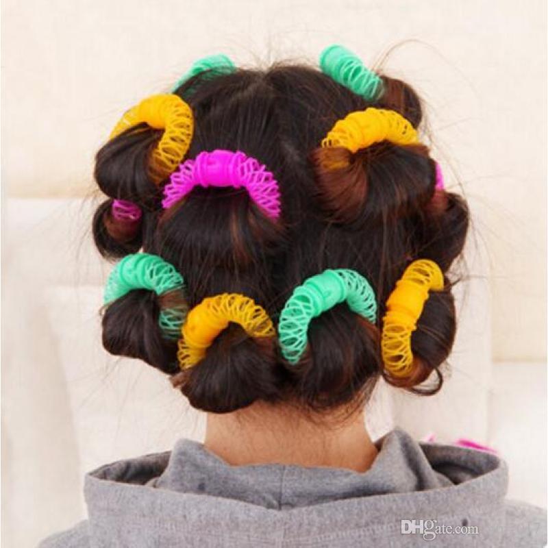 2017 새로운 헤어 스타일링 도구 Hairdress Bendy 헤어 롤러 경기자 DIY 컬링 헤어 액세서리 Headwear Headdressing Tools