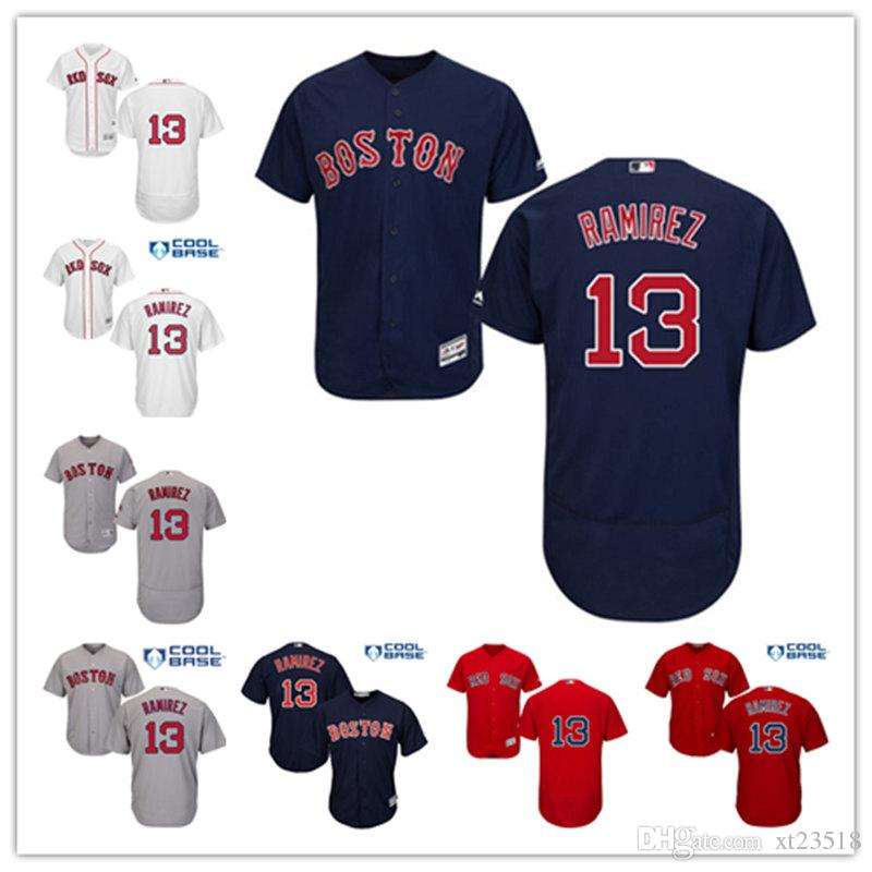 111f8ddf2 ... promo code for 13 majestic boston red sox baseball only 2017 mens  boston red sox hanley