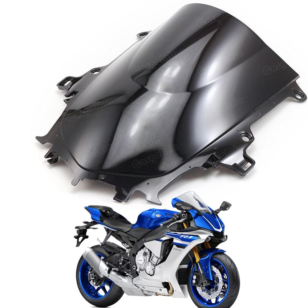 New Double Bubble Windscreen Windshield Shield for Yamaha YZF R1 2015-2016