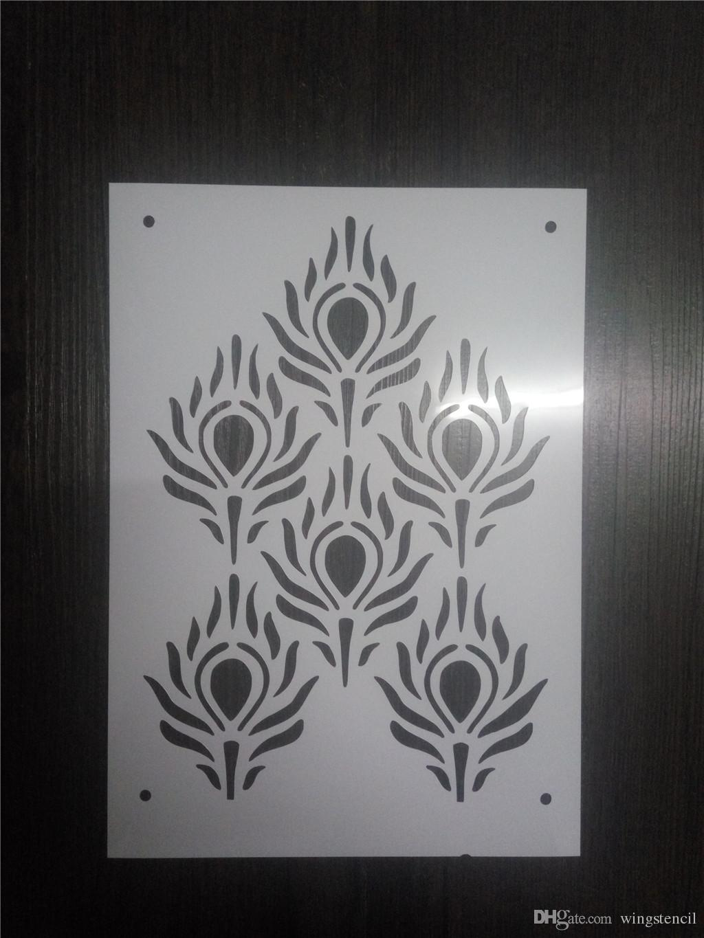 Wholesale Laser Cut Stencils Printing Designs Masking Template For ...