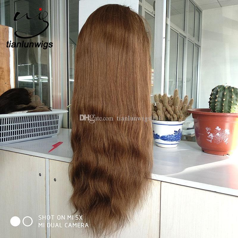 2018 New product 180 heavy density indian human hair full lace wig high quality women front lace hair wigs for ladys