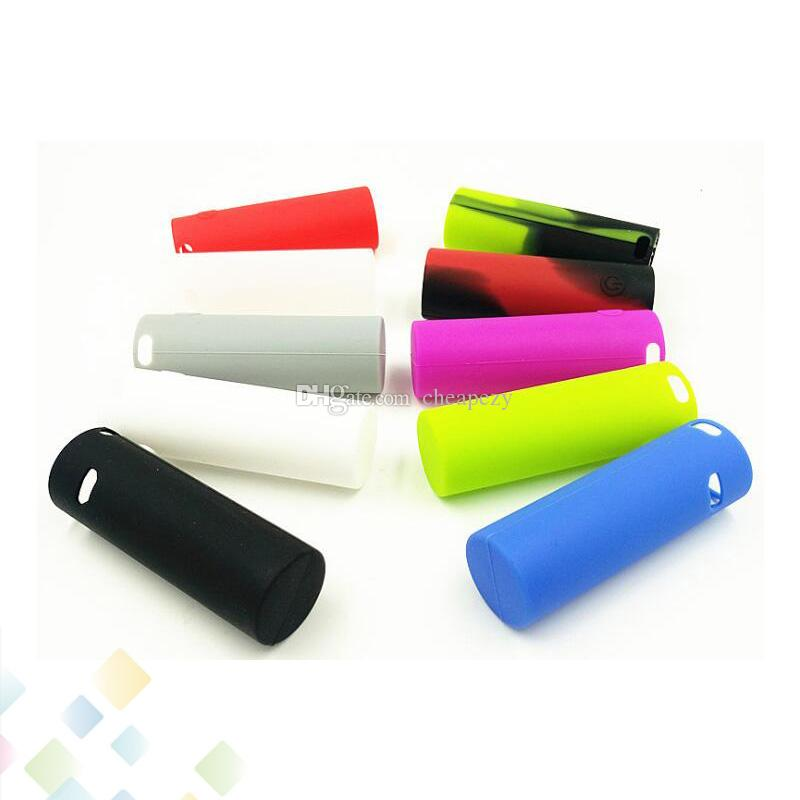 Vape Pen 22 Cover Silicone Protective Cover Case Colorful Soft Rubber Skin Protector for E Cig Vape Pen 22 DHL Free
