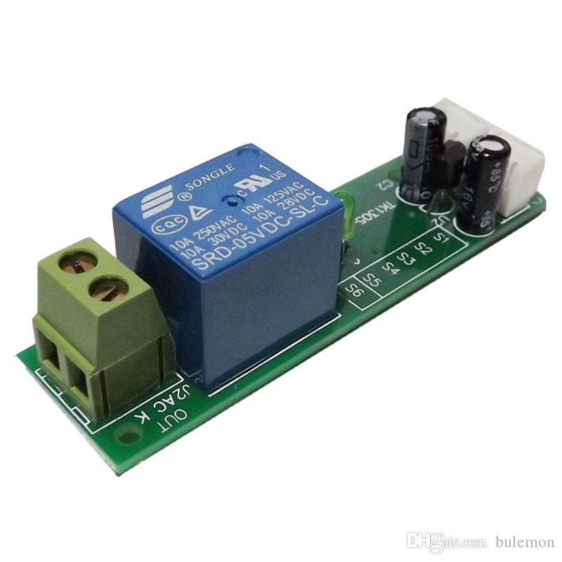 5V 12V 24V 0~60min Time Delay Relay Module Timer Switch Adjustable Module