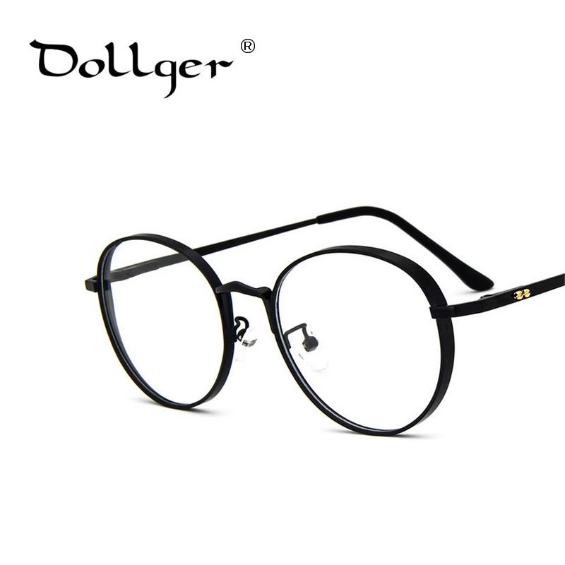 942324bada 2019 Wholesale Dollger Korean GM Metal Frame Glasses Brand V Circular Frame  Mirror Trend Of Flat Mirror With Glasses Frame S1302 From Xiacao