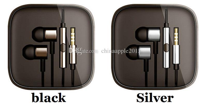 ملون 3.5 ملم المعدنية ل Xiaomi مكبس سماعة العالمي سماعة إلغاء الضوضاء سماعة في الأذن ل iPhone سامسونج الهاتف الذكي الروبوت