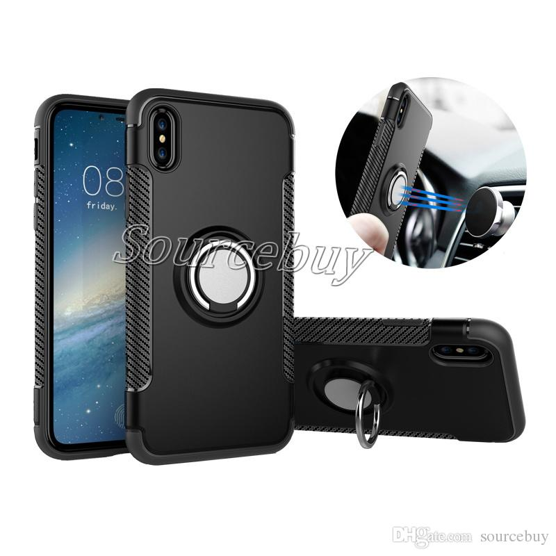 for apple iphone x cases multifunction ring bracket magnetic suctionfor apple iphone x cases multifunction ring bracket magnetic suction protection cover for iphone 7 6 plus samsung galaxy note8 hybrid case