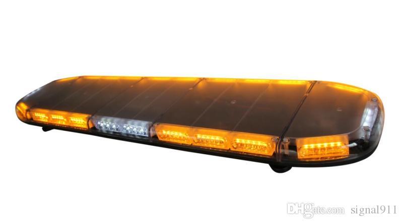 Yüksek yoğunluklu DC12 / 24 V 1.2 m Led acil durum lightbar, polis ambulans itfaiye aracı için trafik uyarı lightbar, su geçirmez