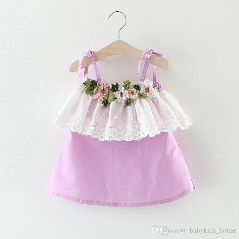 7db8f9ff8 2019 Baby Girls Party Dresses 2017 Summer Fashion Tutu Princess ...