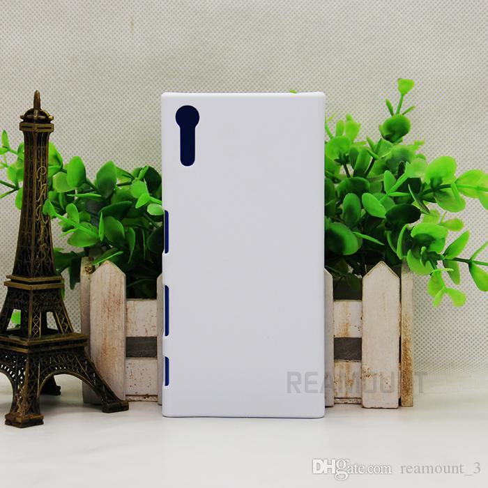 For Sony X/XA Matte/Glossy 3D DIY Blank sublimation plastic case Full Area Printed for M2/M4/M5