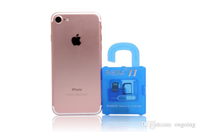 R SIM 11 RSIM11 r sim11 rsim 11 iPhone 5 için kapak kilidi 6 7 6 artı iOS7 / 8/9 / ios 10 ios10CDMA GSM / WCDMA SB AU SPRINT 3G 4G