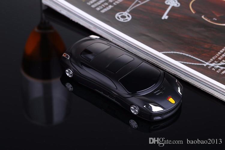 NEWMIND F15 Flip Phone avec caméra Dual SIM LED lumière 1,8 pouces écran téléphone de voiture de luxe peut ajouter un clavier russe