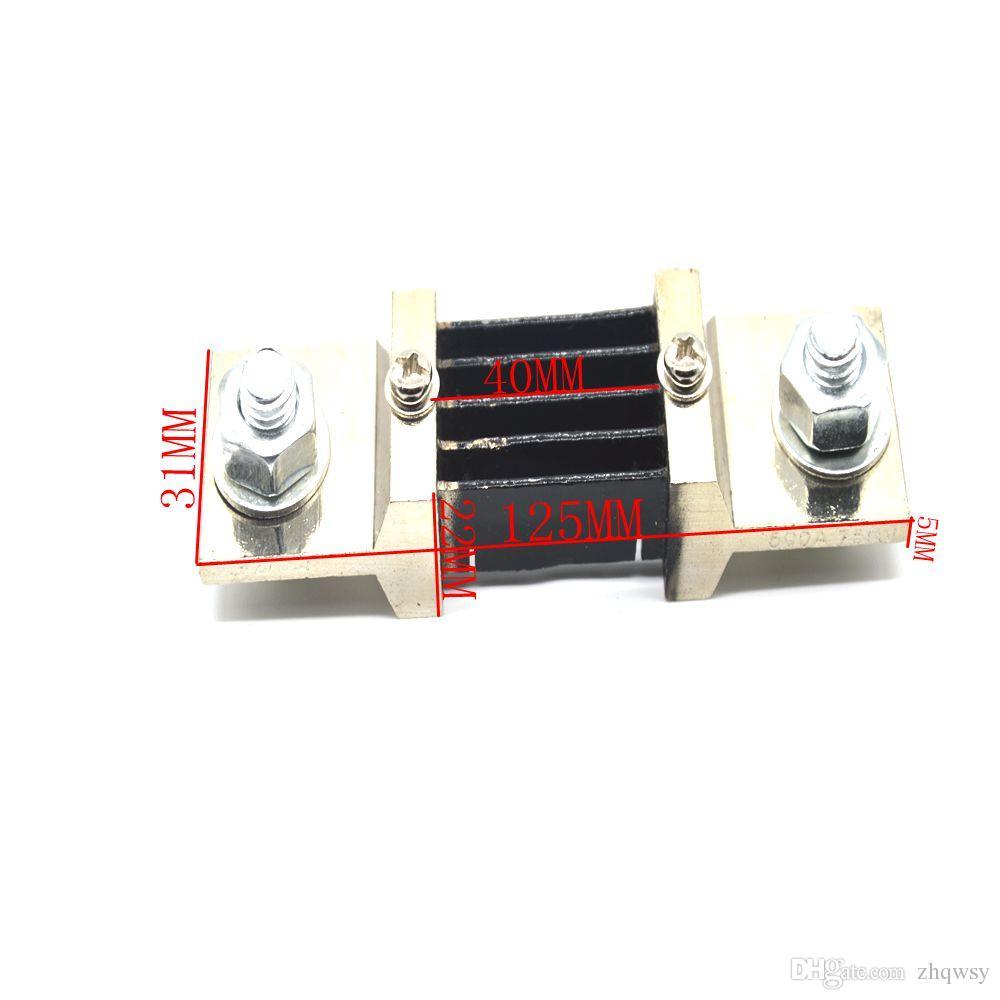 500A75MVDC shunt Ampere Parallel Resistor Amp Panel Meter Ammeter Shunt Current Tester Digital Ampere Panel Meter Current Shunt Resistor
