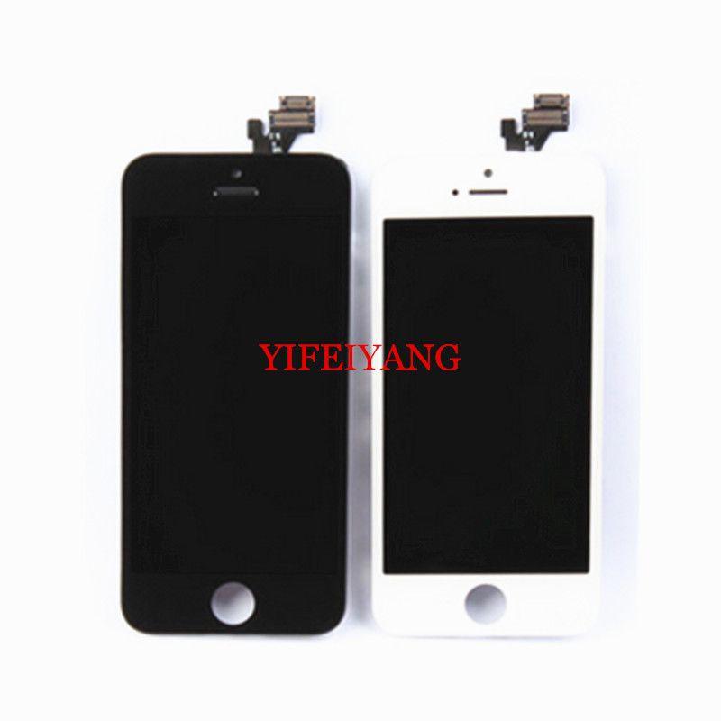 1 adet Ile En Iyi OEM LCD Ekran Dokunmatik Ekran Digitizer Meclisi iPhone 5 5C 5 S 6 artı LCD Ekran