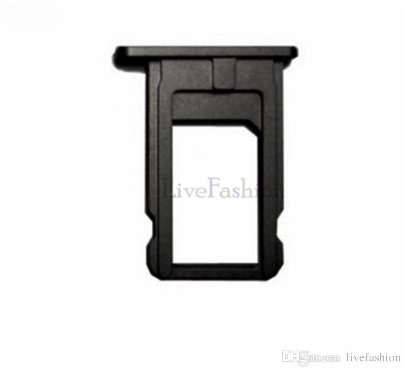 SIM Card Tray Holder Slot New Disign Fit For Iphone5 6 7 Plus Nano High Quality Colorful Replacement Repair Parts