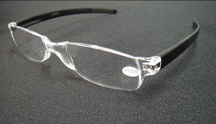 20 unids / lote Unisex gafas de lectura transparentes de plástico con muchos colores de potencia desde +1.00 hasta +4.00