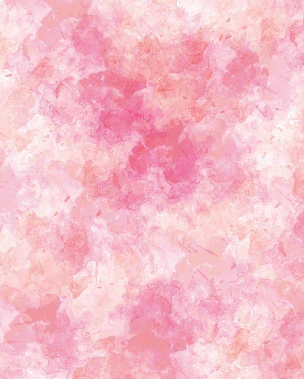 Compre Abstrato Rosa Aquarela Foto Fundos Para Estúdio Impresso Blurry Fotografia Backdrops Bebê