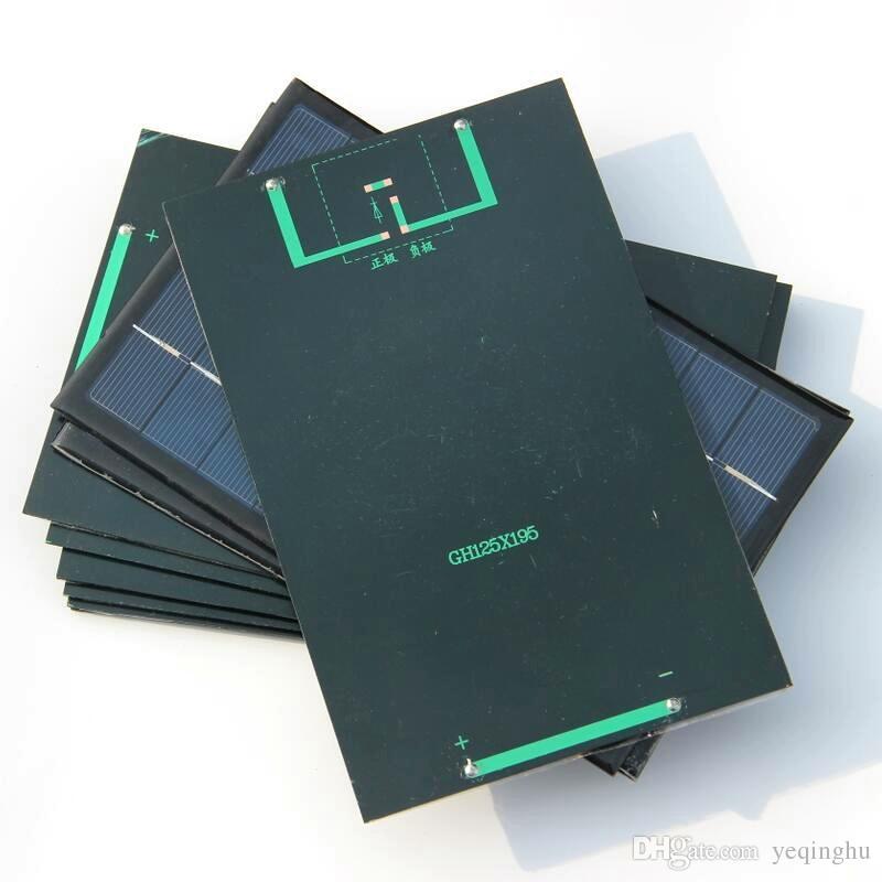 도매 고품질 3W 9V 소형 태양 전지 다결정 태양 전지판위원회 책임 작은 태양 에너지 킷 DIY 교육 연구 / F