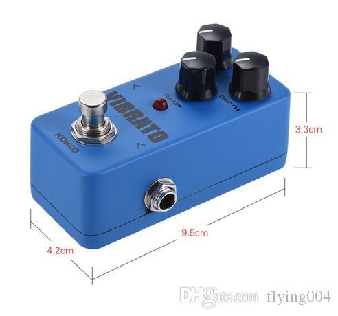 KOKKO FVB2 VIBRATO Mini Electric Guitar Effect Pedals Vibrato Effects Similar To Tremolo True Bypass Parts & Accessories