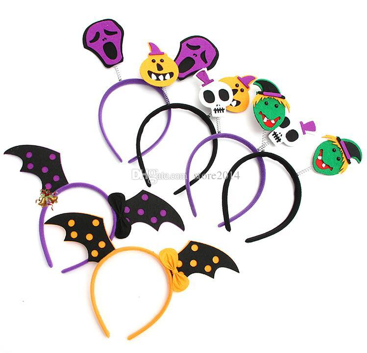 best 2017 halloween headband furry devil cat head hoop fine hair ornaments for girl skeleton hair accessories headwear sexy hair band under 081 dhgate