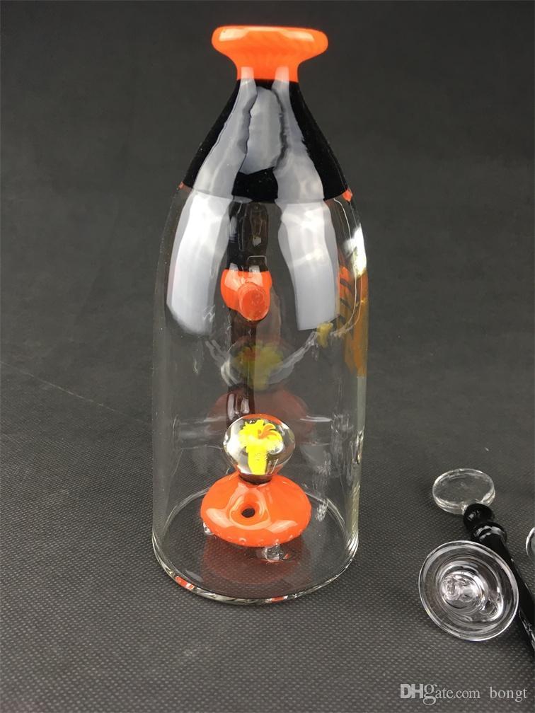 Farbglasflasche Rohrbecher Becherstütze, 14,4 mm Gelenkschüssel