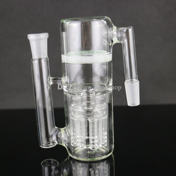 8x arms water pipe ashcatcher Jade honeycomb percolator smoking bong ashcather 18/14mm joint bong ash cather spare part