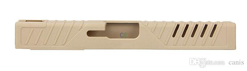 جديد وصول المسدس التكتيكي حالة ملحقاتها التكتيكية الجلد الشريحة تغطية ل G17 G19 شحن مجاني CL33-0213