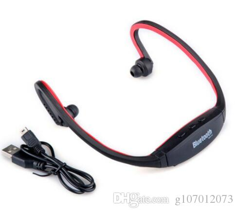 028fbb71b6054b ear hook Headband S9 Sport Wireless Bluetooth Headphones Headsets for  iphone 6/5/4 galaxy S5/S4/3 iOS/Android with microphone