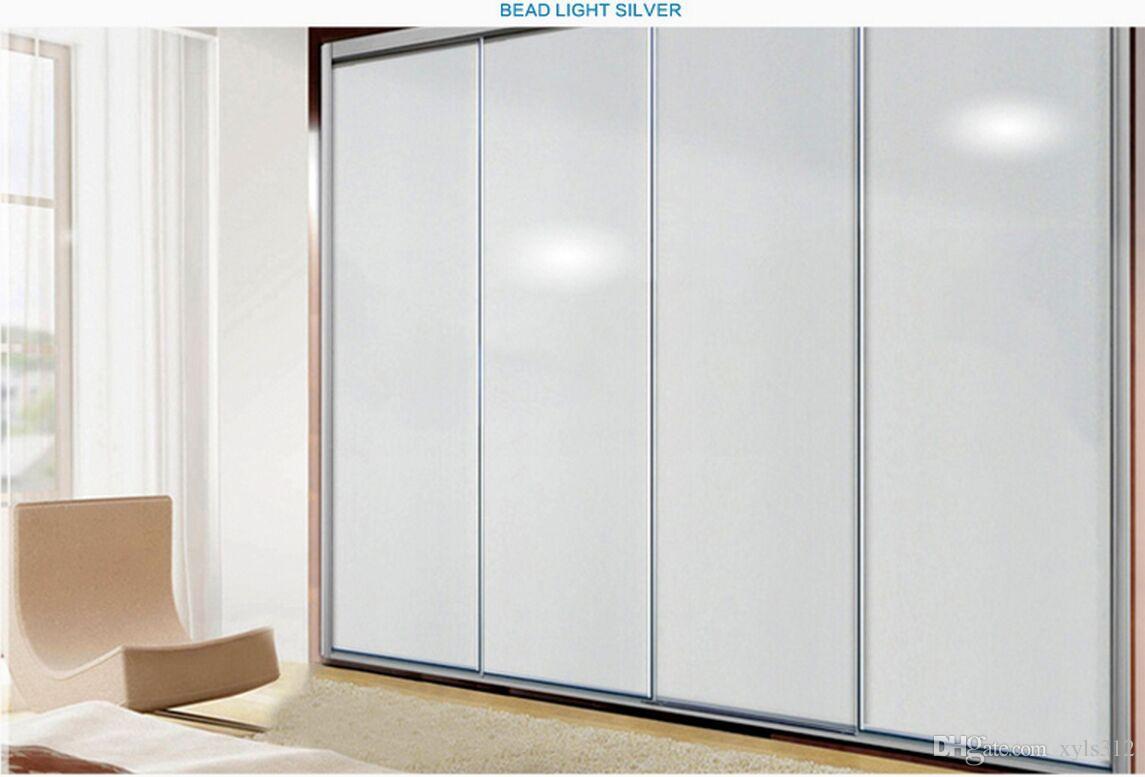 Pintura de color púrpura DIY wallpaper muebles de perla renovación pegatinas gabinetes pegatinas armario papel pintado de color sólido a prueba de agua