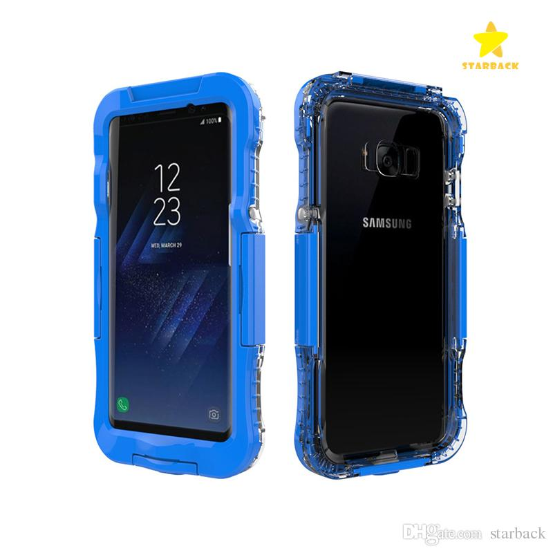 newest 97a0c 0dc13 For Galaxy S8 360 Full Cover Waterproof Case Shockproof Hybrid Heavy Duty  Phone Cases For Samsung S8 S8 plus