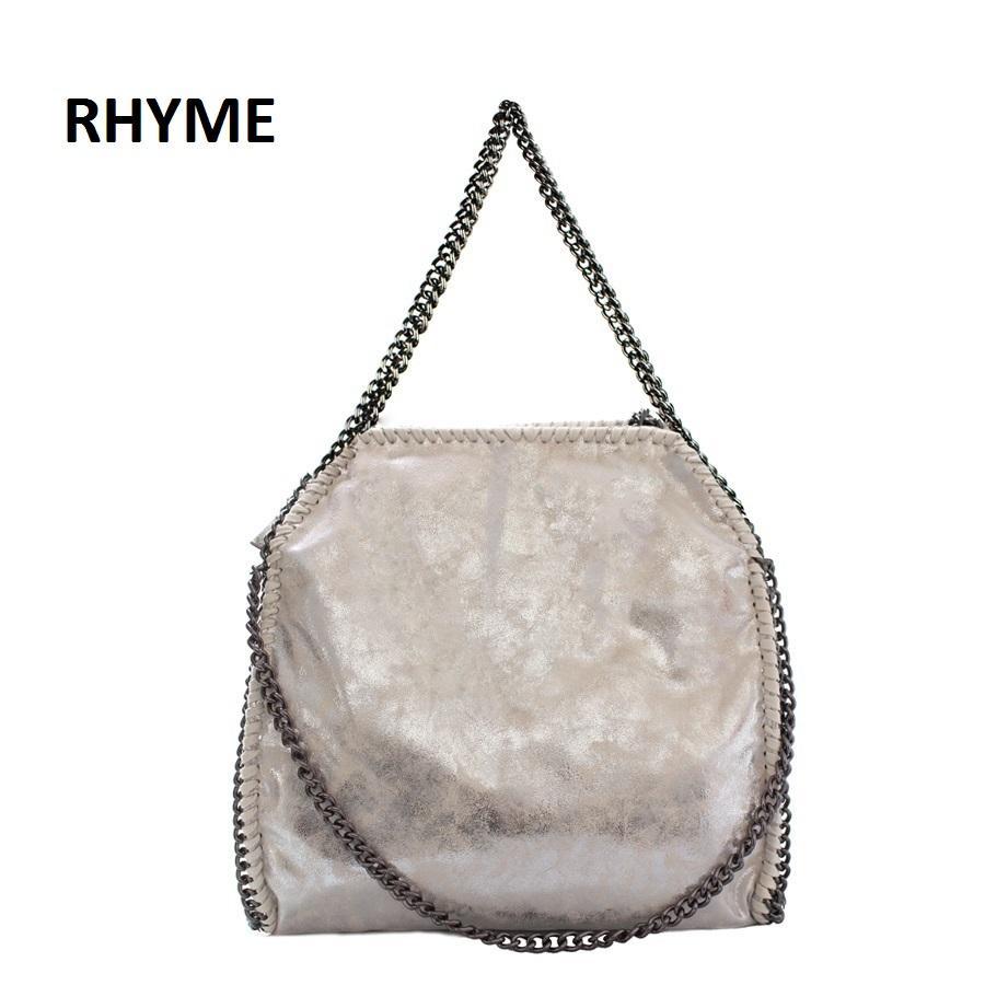 b6270a1c8a52 Wholesale Rhyme Stella Women Bag Shoulder Bag Falabellas Tasche With 3  Chains Evening Bolso Socialite Tote Fashion Sac A Main Lady Torba Cheap  Designer ...