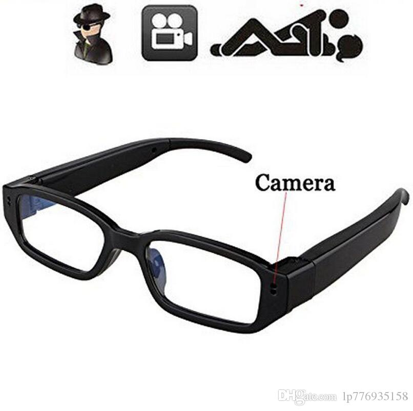 526e49d83b19 2019 Mini HD 1280 720P 720 480 Spy Camera Glasses Hidden Eyewear DVR Video  Recorder Cam Camcorder Listen Device From Lp776935158