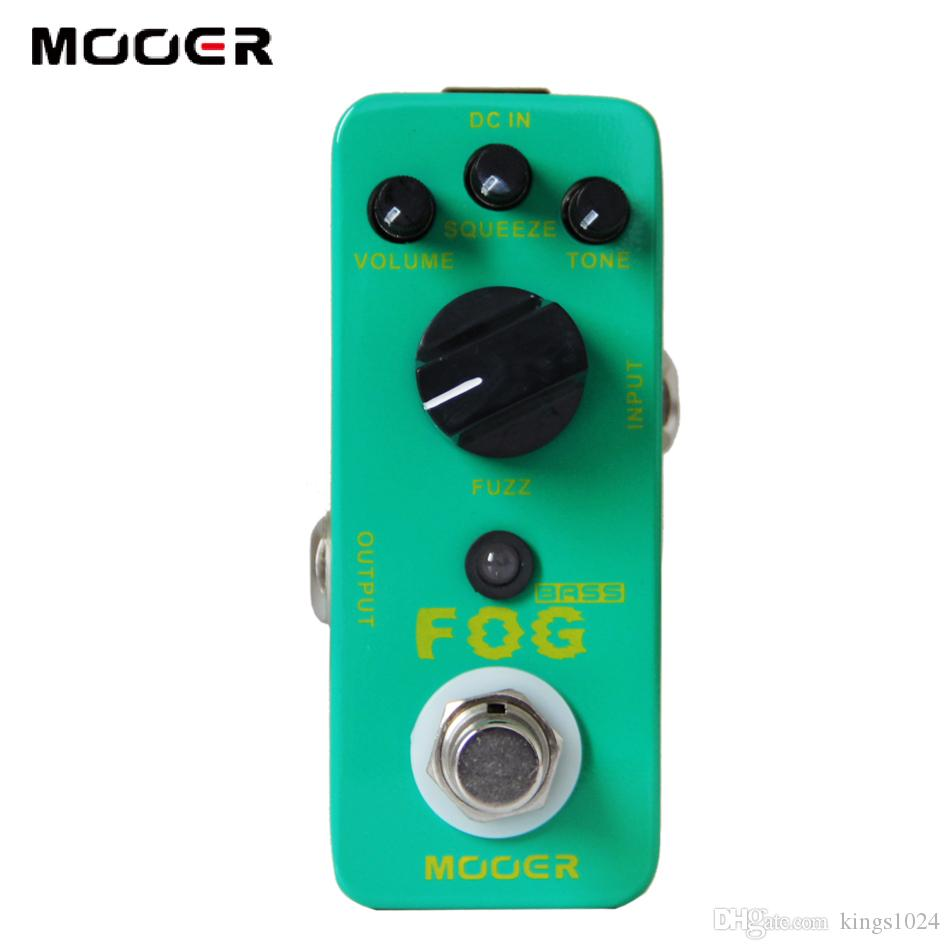 MOOER Fog Bass Fuzz Pedal/Full metal shell True bypass Guitar effect pedal