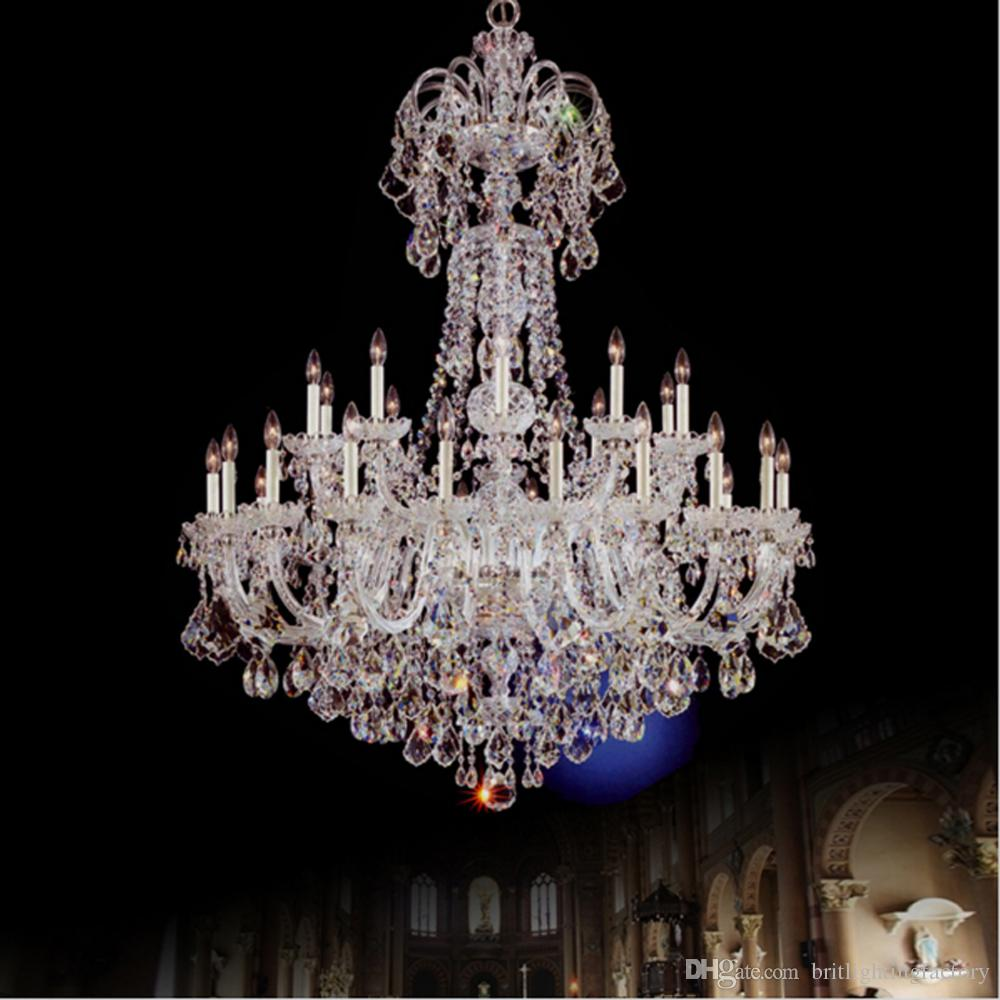 Modern banquet hall k9 large crystal chandelier led sales lobby modern banquet hall k9 large crystal chandelier led sales lobby chandelier spiral villa living room duplex building stair crystal chandelier flower aloadofball Image collections
