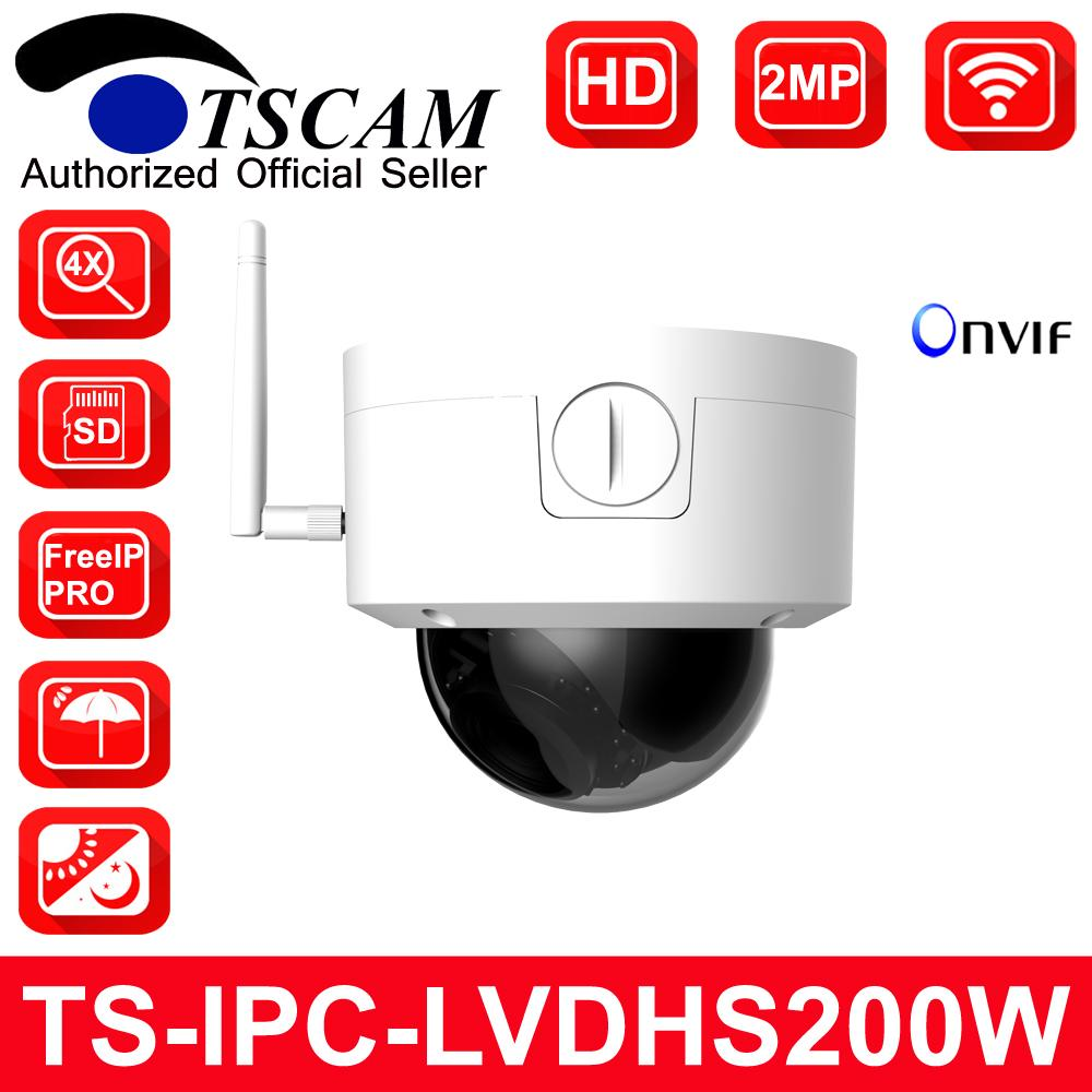 8e7f5d54b TSCAM New TS-IPC-LVDHS200W HD 1080P 2MP Wifi Wireless Dome IP Camera ...