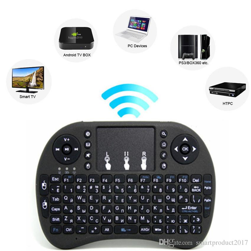 9de1127ed08 2018 Rii Mini i8 i8+Keyboard Touch Fly Air Mouse Chargeable Battery USB  Cable Portable 2.4G Wireless Keyboard Mouse Combo Touchpad PC