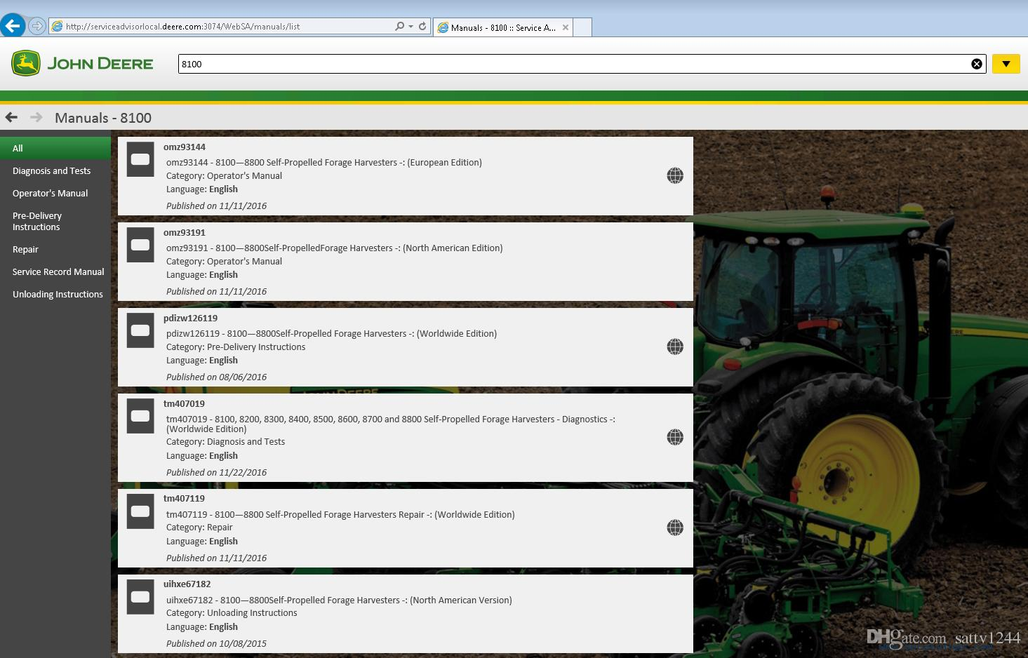 Towerlivin Blog In Terms Of A Multiple Control You39ll Need One As Shown The John Deere Service Advisor Keygens Economics
