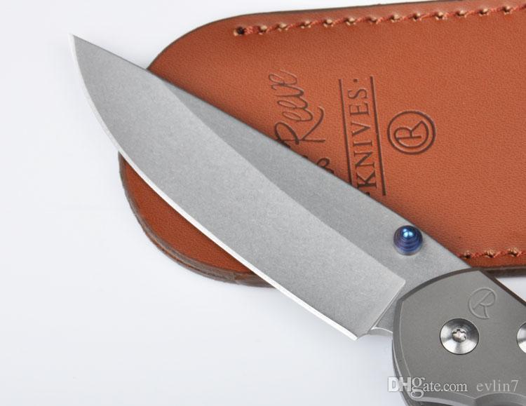 Fabbrica diretta chris reeve grande sebenza 21 d2 60hrc stone wash lama in acciaio ultima sebenza pieghevole coltello in lega di titanio maniglia telaio serratura