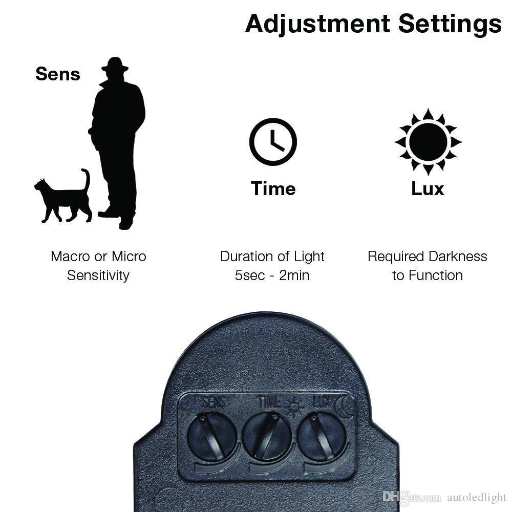 Painel Solar Holofote LED Luz de Inundação Solar Ao Ar Livre Segurança PIR Sensor De Movimento 60 LEDs Jardim Caminho De Emergência Lâmpada de Parede