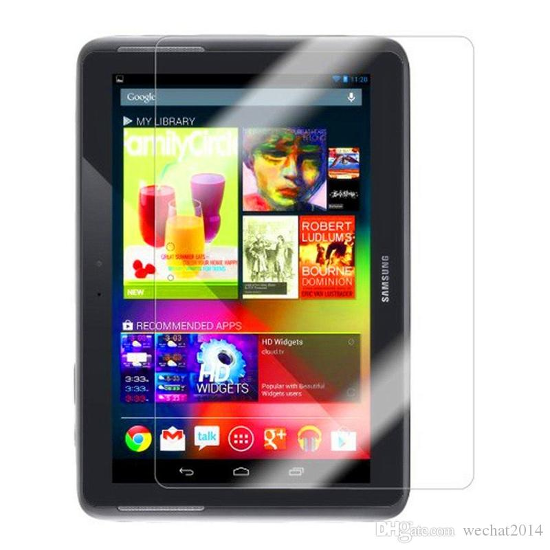 Explosion Proof 9H 0.3mm Screen Protector Tempered Glass for Samsung Galaxy Tab 2 10.1 P5100 P5110 Note 10.1 N8000 free DHL